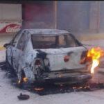 México: Sicarios asesinan a jefe policial e incendian su auto para calcinar el cadáver