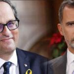 Presidente de Cataluña Quim Torra anuncia ruptura de facto de relaciones con la Corona (VIDEO)