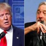 Donald Trump responde a Robert de Niro: Golpes en el boxeo lo dejaron atontado