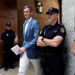 Cuñado del rey Felipe VI llega a Madrid antes de que venza el plazo para ingreso a prisión  (VIDEO)