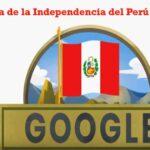 Fiestas Patrias: Google celebra Independencia del Perú con 'doodle'