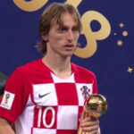 Luka Modric ganó el 'Balón de Oro' del Mundial Rusia 2018