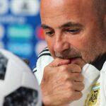 Jorge Sampaoli deja de ser técnico de la selección argentina