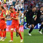 Inglaterra vs Croacia: Día, hora y canal en vivo por semifinales de Rusia 2018