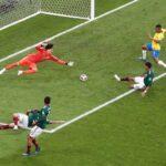 Mundial Rusia 2018: Brasil derrotó 2 a 0 a México