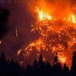 EEUU: Dantesco incendio avanza incontrolable cerca del Parque Nacional Yosemite  (VIDEO)