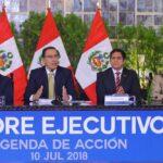 Vizcarra: Elecciones y cambio de autoridades no deben retrasar obras
