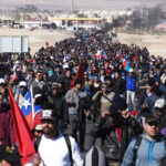 Huelga total de mineros afecta producción del cobre en Chile
