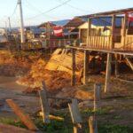 Loreto: Reubican a familias damnificadas tras erosión fluvial en distrito de Yavarí