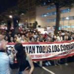 Protestas y disturbios en Marcha contra la corrupción por crisis en el CNM y Poder Judicial (VIDEO)