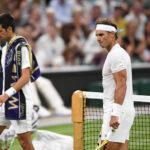 Wimbledon: Djokovic en partido suspendido aventaja 2 sets a 1 a Nadal