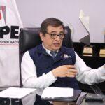 Suspensión a jefe de ONPE se mantiene hasta restitución del CNM