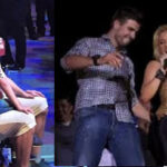 """España: Gerard Piqué le """"roba el show"""" a Shakira en concierto de """"El Dorado World Tour"""" (VIDEO)"""