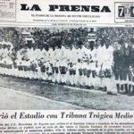 25 de julio de 1964: Estadio Nacional reabre sus puertas con Cristal vs Barza (Video)