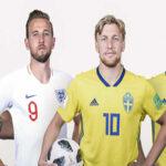 Mundial Rusia 2018: Inglaterra enfrenta por pase a semifinales a Suecia