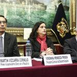 Verónika Mendoza respalda referéndum propuesto por el Presidente