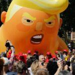 """Ingleses enviarán a EEUU el """"globo bebé"""" que ridiculiza al presidente Donald Trump"""