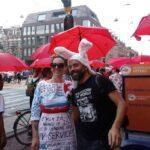 Marcha global de prostitutas recorre Amsterdam para pedir derechos y respeto