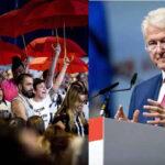 Holanda: 50 trabajadoras sexuales interrumpen a Clinton para pedirle que las defienda (VIDEO)