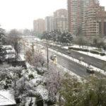 Chile: Alerta por ola de frío polar de 4 grados bajo cero en la capital, Valparaíso y Biobío (VIDEO)