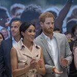Príncipe Enrique y Meghan inauguran exposición sobre Nelson Mandela