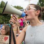 Miles de mujeres y colectivos LGBT protestan en Londres contra Trump