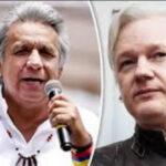 Ecuador: Lenín Moreno afirmó que Assange debe abandonar embajada en Londres (VIDEO)