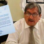 Consejero Julio Gutiérrez presentó su renuncia irrevocable al CNM