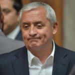 Juez ordena retorno de expresidente de Guatemala Pérez Molina a prisión