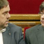 Por enfrentamiento de partidarios de Puigdemont y Junqueras suspenden pleno en Congreso