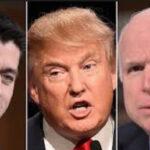 Líderes republicanos critican severamente actitud de Trump ante presidente ruso Putin
