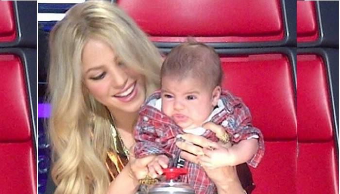Publican fotos de Shakira con su primer hijo recién nacido en hospital