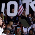 EEUU: Hillary Clinton llama a votar en elecciones de noviembre
