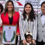 Alexandra Grande y Jesús Altamirano reciben los Laureles Deportivos