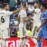Liga Santander: Real Madrid cura sus heridas con triunfo por 2-0 ante Getafe