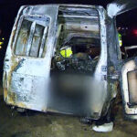 Dos personas murieron carbonizadas en un accidente de tránsito en Chilca