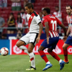 Liga Santander:Atlético de Madrid asustado derrota 1-0 al Rayo Vallecano