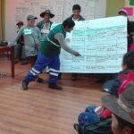 Productores de Circa inician aprendizaje sobre el control de plagas de papa