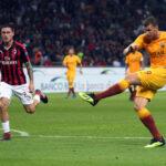 Liga italiana: Milan con gol en el último minuto se impuso por 2-1 al Roma