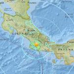 Sismo de 6.1 grados remeció sur de Costa Rica y amplias zonas de Panamá