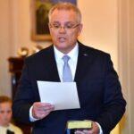 Liberal Scott Morrison juramenta como primer ministro de Australia