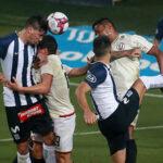 Universitario y Alianza Lima empataron 1-1 en el Estadio Nacional