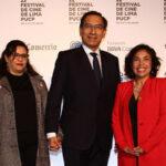 """Festival de Cine de Lima: Presidente Martín Vizcarra se declara """"cinéfilo"""" en inauguración"""