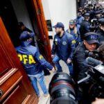 Argentina: Allanan una vivienda de expresidenta Cristina Fernández