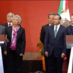 López Obrador reitera a Peña Nieto que de todas maneras cancelará la reforma educativa (VIDEO)