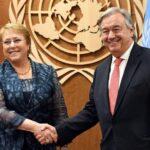 """Bachelet: """"Cumpliré con toda mi fuerza, toda mi energía y mis convicciones"""""""