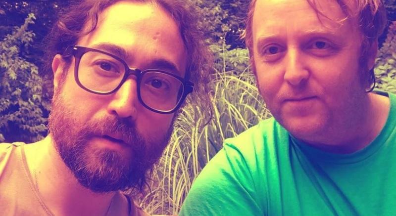 Se viraliza foto de los hijos de Lennon y McCartney — Yesterday