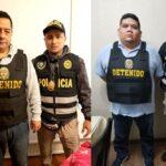 Hoy martes resuelven prisión preventiva para Antonio Camayo y otros