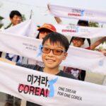 Arrancan los Juegos Asiáticos con las dos Coreas desfilando juntas