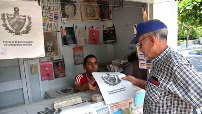Este es el texto provisional de la nueva Constitución cubana